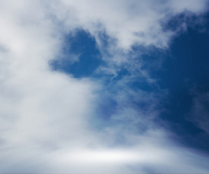 Clouds Stage Blue Sky Background