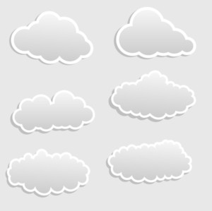Clouds Stickers