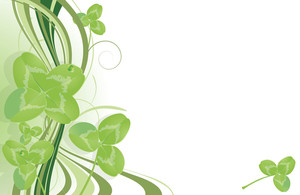Clover Abstract. Vector Template.