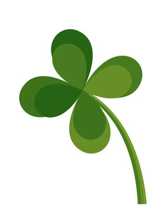 Clover Leaf Clipart Vector