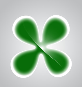 Clover Leaf Shape Vector