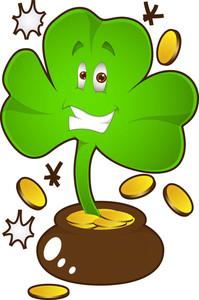 Clover Leaf - St. Patrick's Day