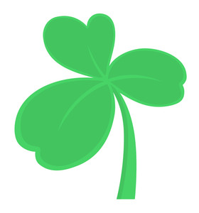 Clover Leaf Vector Illustration