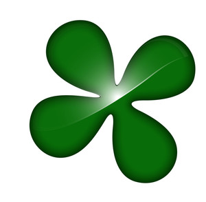 Clover Leaf Vector Shape Design