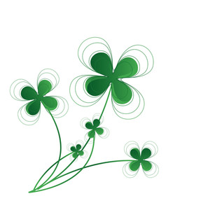 Clover Leaves Floral Design