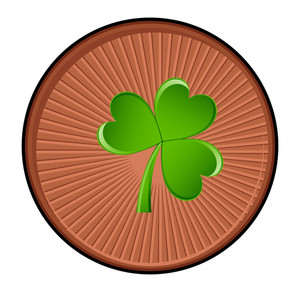 Clover Retro Coin