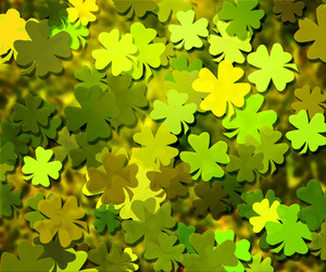 Clover Texture Background