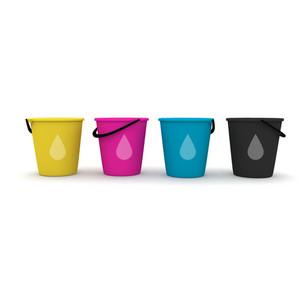 Cmyk Buckets