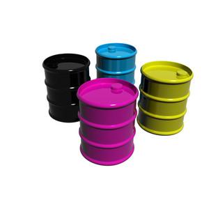 Cmyk Paint Cans