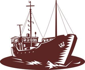 Coastal Trader Boat