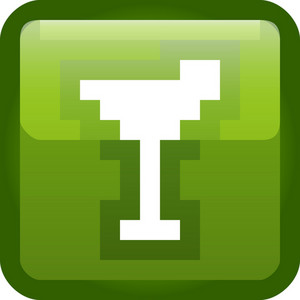 Cocktail Green Tiny App Icon