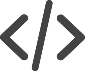 Code Glyph Icon