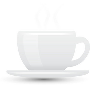 Coffee Cup Lite Communication Icon