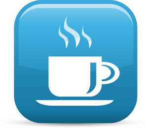 Coffee Elements Glossy Icon