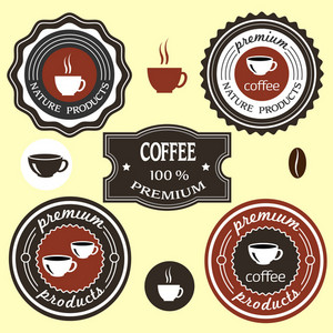 Coffee Labels For Design