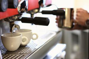 Barista Making Fresh Coffe