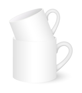 Coffee Mugs Vector Illustration