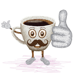 Coffee Mustache