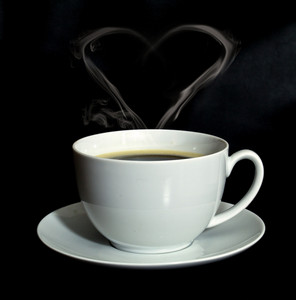 Coffee Steam Heart