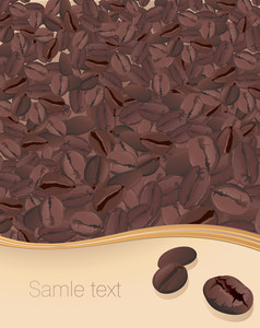 Coffee Vector Template.