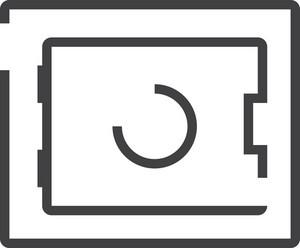 Coffer Minimal Icon