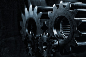cogwheels and gears