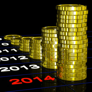 Coins On 2014 Shows Financial Expectations