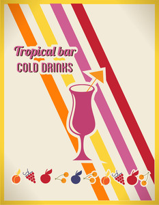 Cold Drinks Advertisement (editable Text)