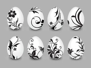 Collection Of Decorated Egg