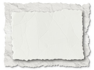 Collection Of Various Papers On White Background.