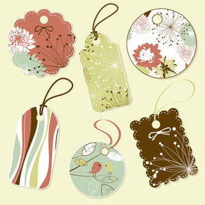 Collection Of Vintage Tags
