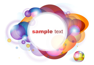Color Abstract. Vector Background.