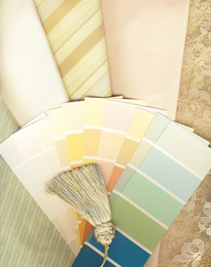 Color And Textile Swatches