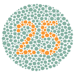 Color Blindness Test - 25