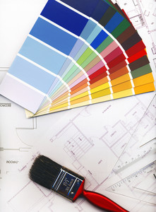Color Swatches And Plans-