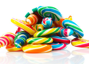 Colored Candy For Christmas