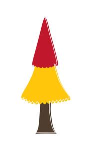 Colored Christmas Tree