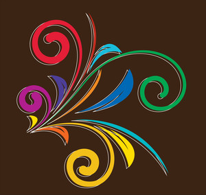 Colored Decorative Elements