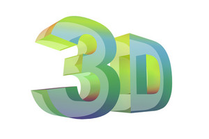 Colorful 3d Glassy