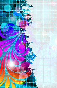 Colorful Abstract Background Vector Illustration