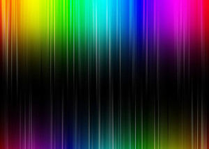 Colorful Abstract Rainbow Background