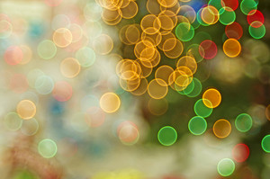 Colorful Bokeh Lights