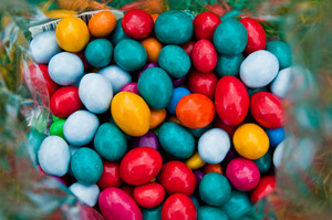 Colorful Chocolates Candies