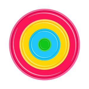Colorful Circle Board