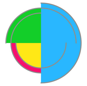 Colorful Circle Design Element