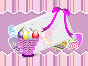 Colorful Concept For Easter Day