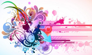 Colorful Concert Poster Vector Illustration