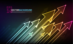 Colorful Digital Arrows