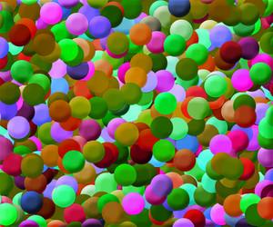 Colorful Disks Background