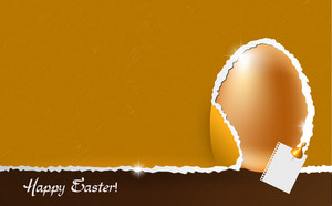 Colorful  Easter Background Vector Illustration